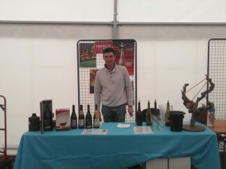 Salon des vins à Lentiol