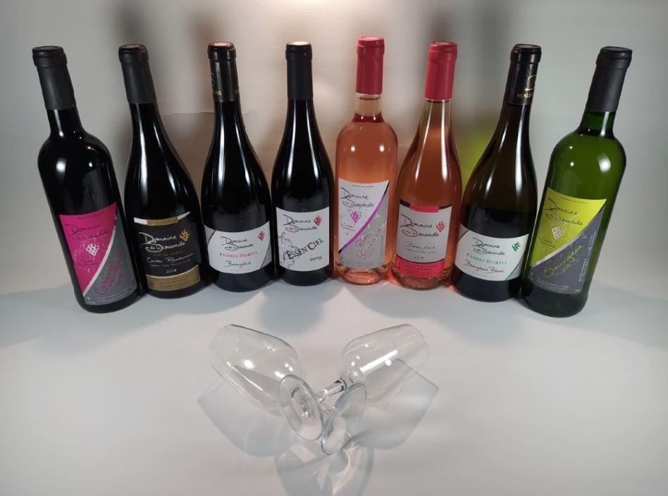 Gamme de vins