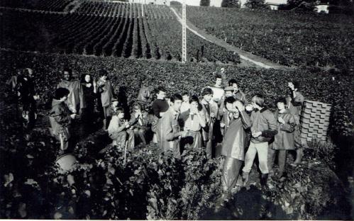 Jean Monfray et son équipe (septembre 1981)