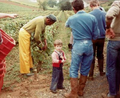 Le père et le fils en 1984
